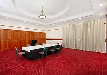 Conference set up for Vanderbilt room